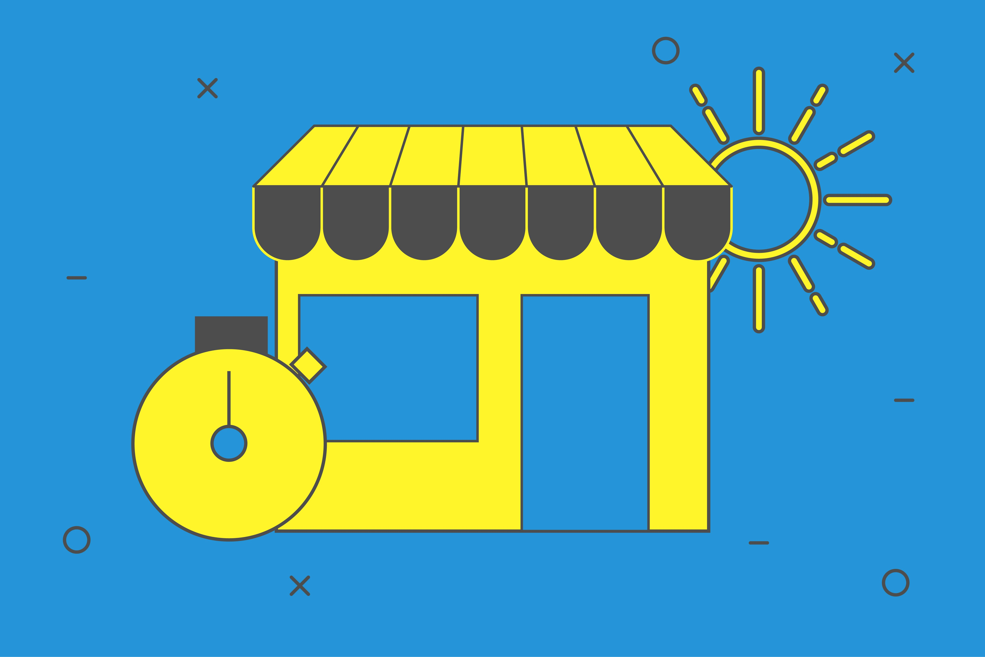 gestire e-commerce ad agosto