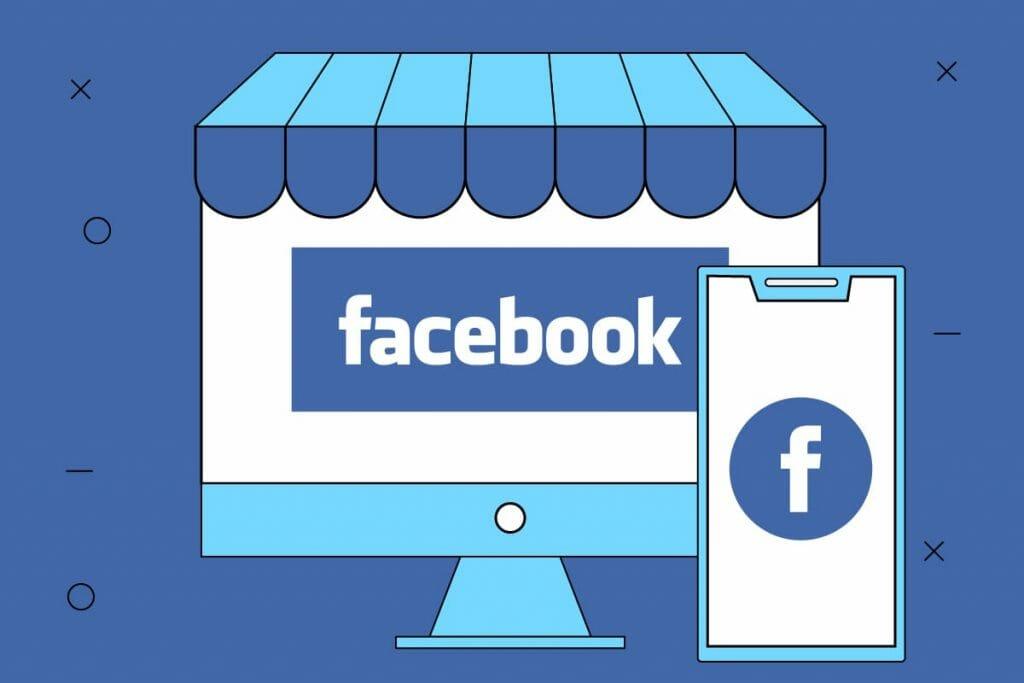 creazione template e-commerce Facebook