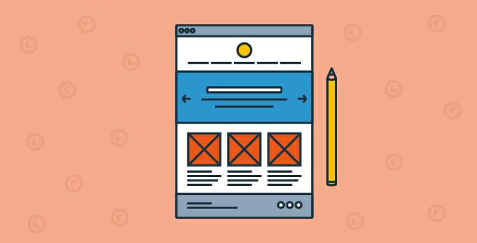 scegli il giusto design per aprire un e-commerce