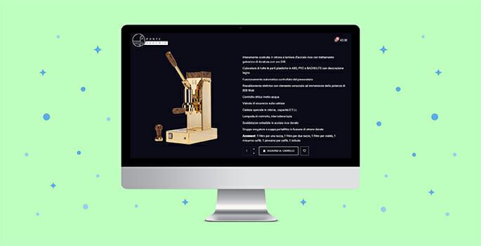 scheda prodotto e-commerce Pontevecchio