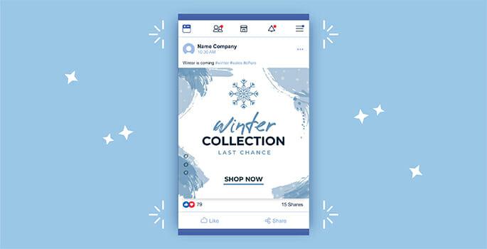 esempio di campagna facebook ads per e-commerce