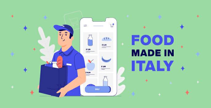 e-commerce di prodotti alimentari made in Italy