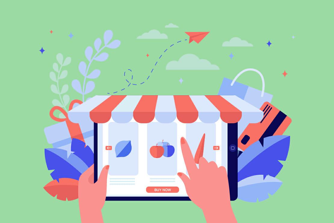e-commerce di prodotti alimentari