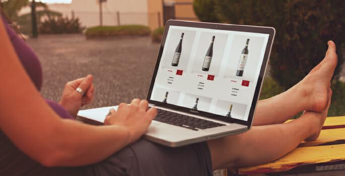 e-commerce di vini sito