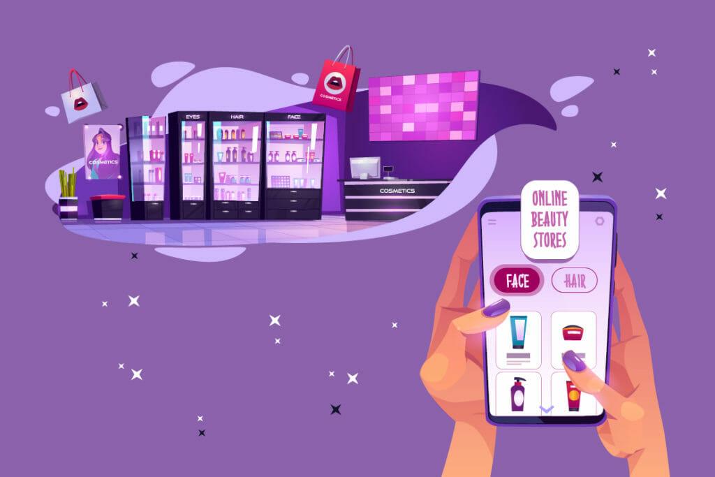 aprire un e-commerce di cosmetici