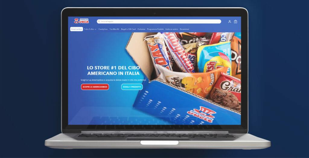 e-commerce di successo American Uncle