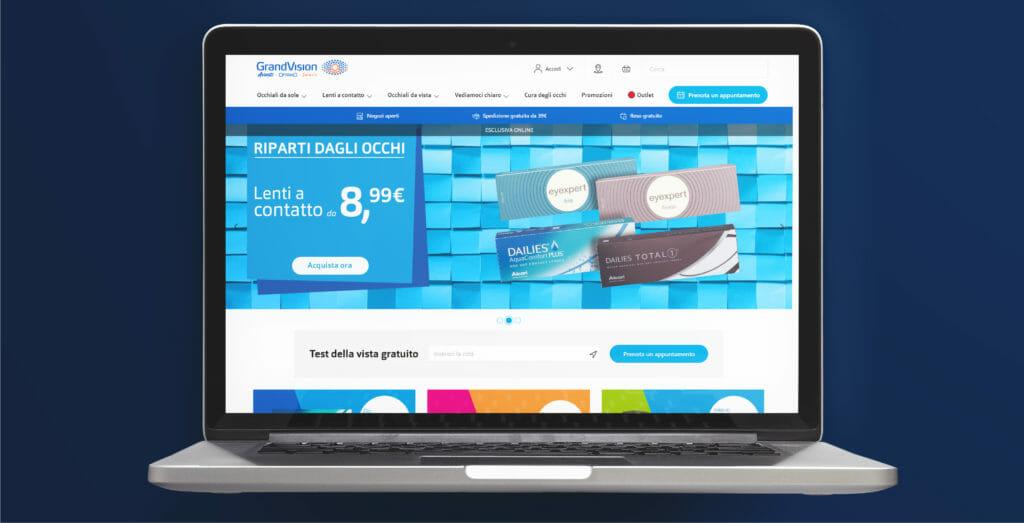 e-commerce di successo GrandVision
