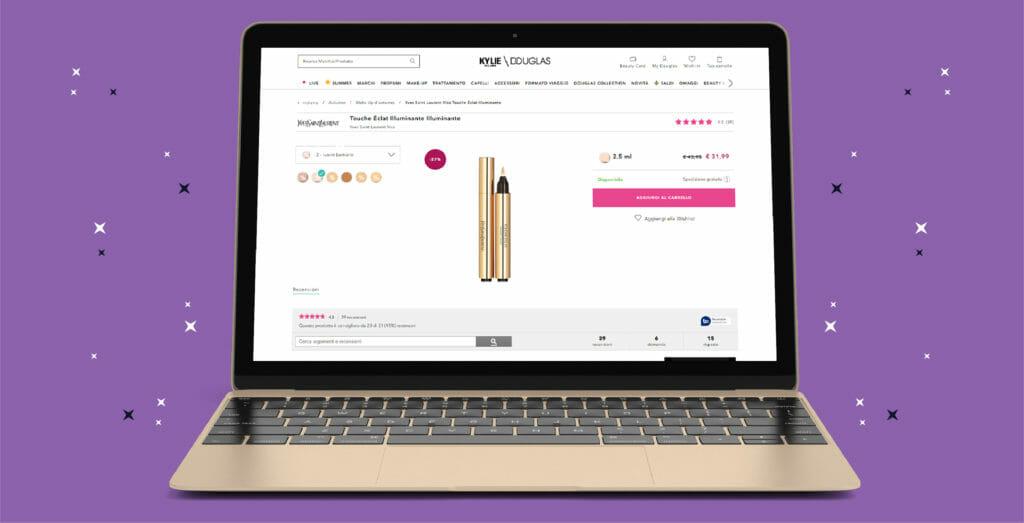 recensioni dei prodotto cosmetici