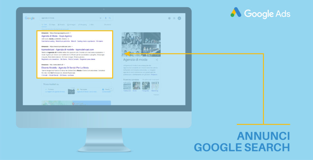 cerca annunci Google